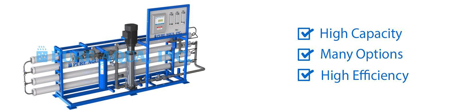 commercial brackish water reverse osmosis BWRO systems 13000-32000 gpd features