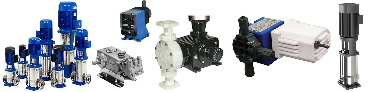 commercial water pumps parts and components