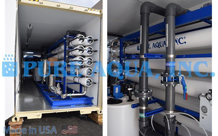 Containerized Reverse Osmosis Plant 380,000 - Iraq - image1