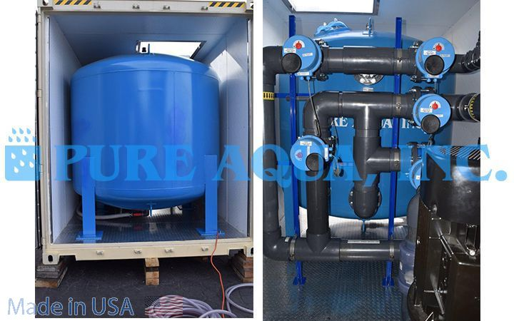 Containerized Reverse Osmosis Plant 380,000 - Iraq - image2