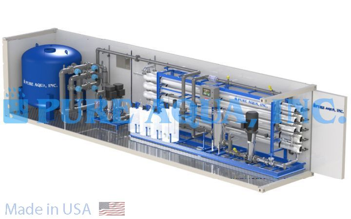 Containerized Reverse Osmosis Plant 380,000 - Iraq - image3