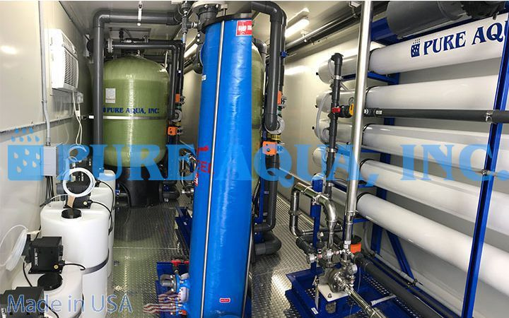 Containerized Seawater Reverse Osmosis System 100,000 GPD - Venezuela - image2