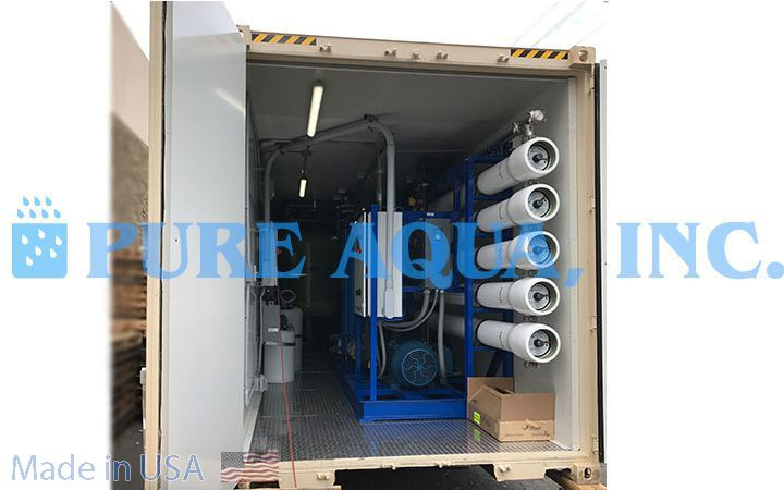 Containerized Seawater Reverse Osmosis System 100,000 GPD - Venezuela - image3