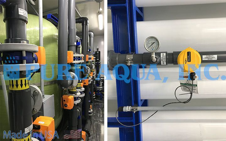 Containerized Seawater Reverse Osmosis System 100,000 GPD - Venezuela - image5