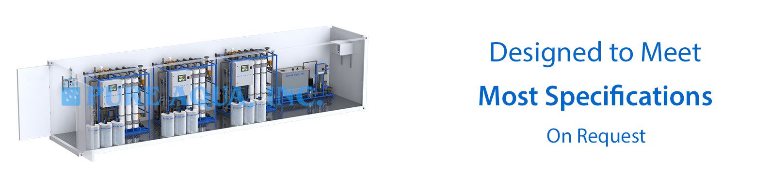 Containerized Ultrafiltration Systems CUF
