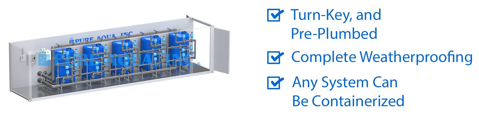 Containerized Water Treatment Systems CWT