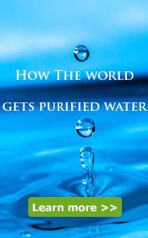how the world gets purified water