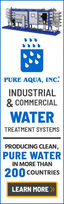 industrial & commercial water treatment systems worldwide by pure aqua, inc.