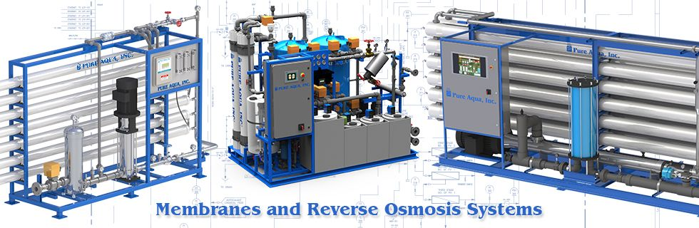 RO reverse osmosis & membranes systems